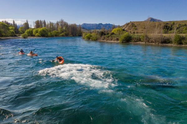 White Water Kayaking with Paddle Wanaka